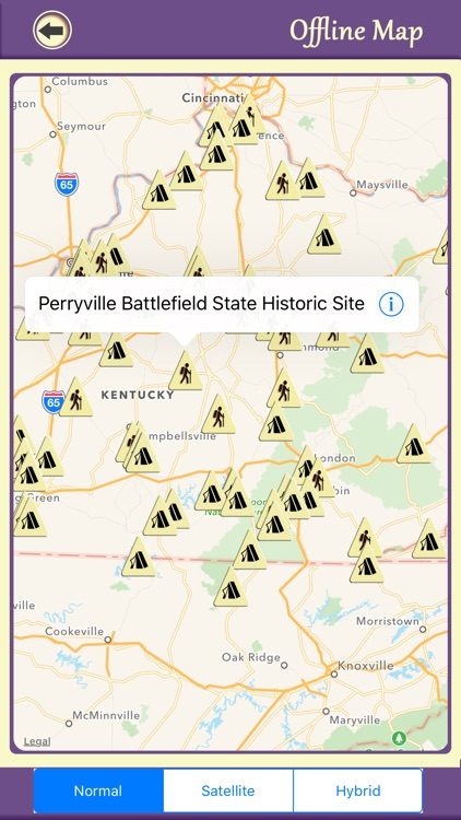Kentucky Camping & Hiking Trails,State Parks screenshot-4