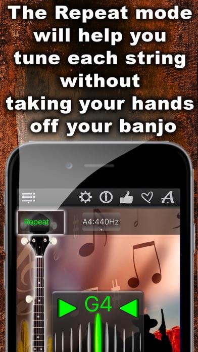 Easy Banjo Tuner Screenshot 4