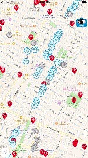 Free Wifi Nyc Map.Free Wifi New York City On The App Store