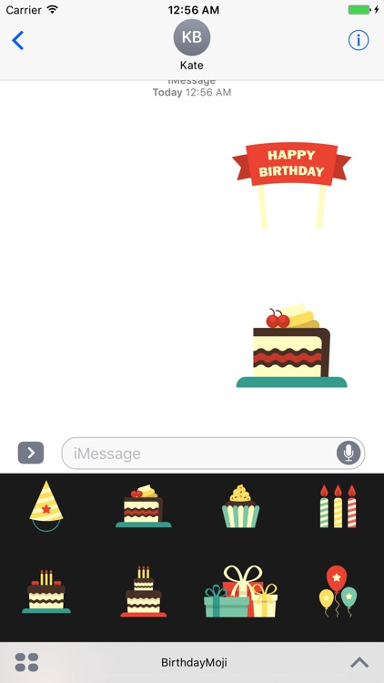 BirthdayMoji - Happy Birthday Stickers