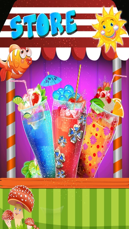 Make A Soda Lemonade & Cola Soft Drinks Maker Game screenshot-4