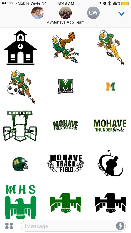 MyMohave Stickers Pack