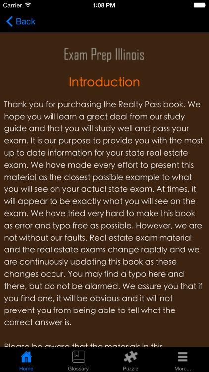 ExamPrepIL Illinois Real Estate Agent Exam Prep. screenshot-3