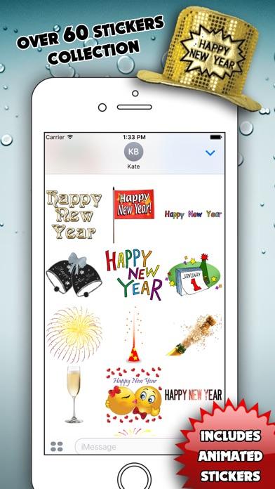 Happy New Year for iMessageScreenshot von 2