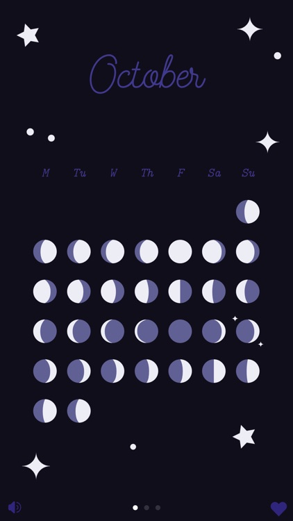 Luna — a lunar calendar for witches and werewolves