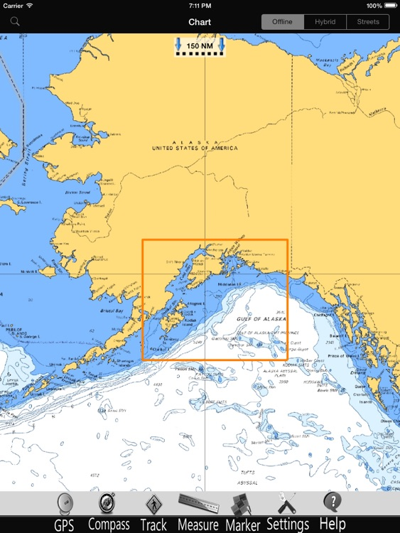 Alaska SW Nautical Charts Pro screenshot-4