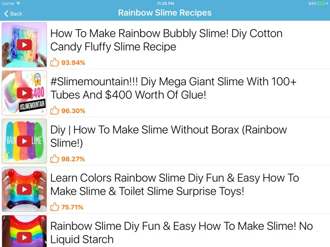 How to make slime slime making on the app store how to make slime slime making on the app store ccuart Image collections