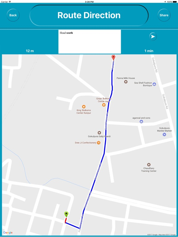 Agra india Offline Maps (eMap) Скриншоты10