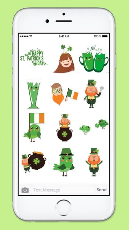 Cute St Patricks Day Sticker Pack screenshot-4