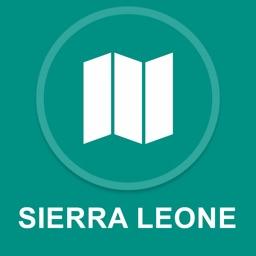 Sierra Leone : Offline GPS Navigation