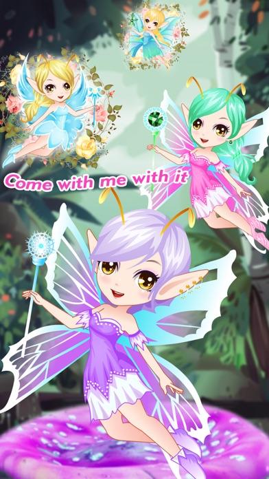 Fantasy Elf Princess- fun makeover games for kids screenshot three
