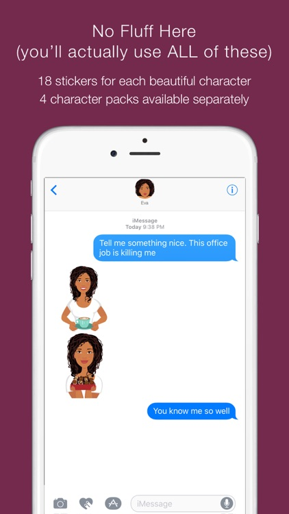 Telle-Eva: Chic stickers for women & girl talk screenshot-4