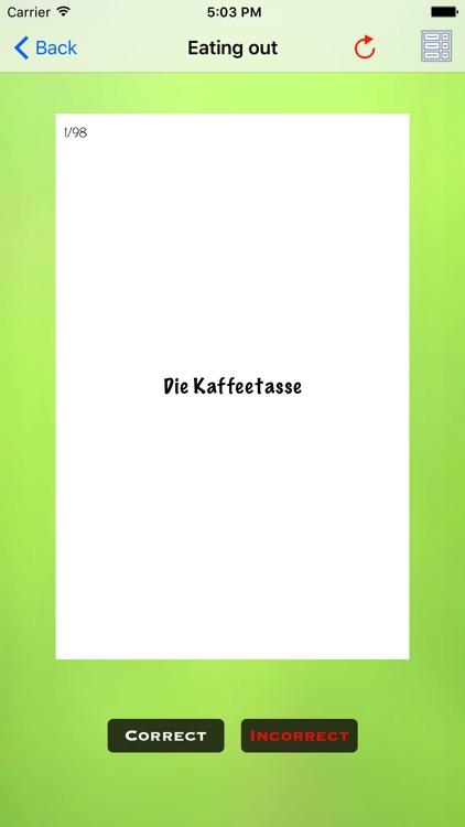 German Flashcards - Learn To Speak German Today