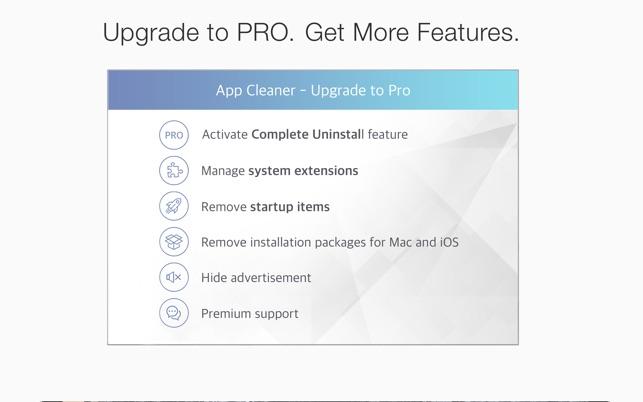 App Cleaner & Uninstaller Screenshot