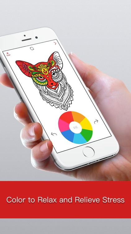Coloring Artist:Colorfy Designer Games for Adults