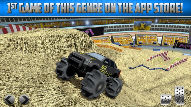 Monster Truck Parking Game Real Car Racing Games on the App