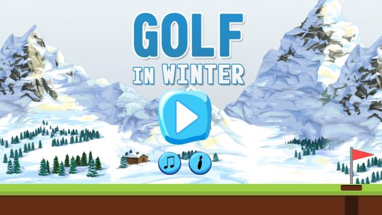 Golf In Winter