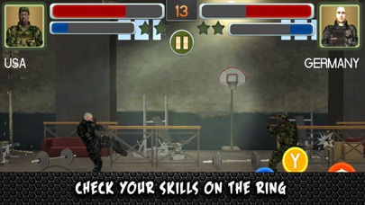 SWAT Soldiers Fighting Training 3D screenshot two