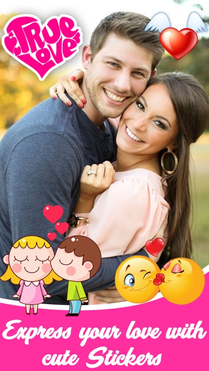 Valentine Photo Stickers and Filter