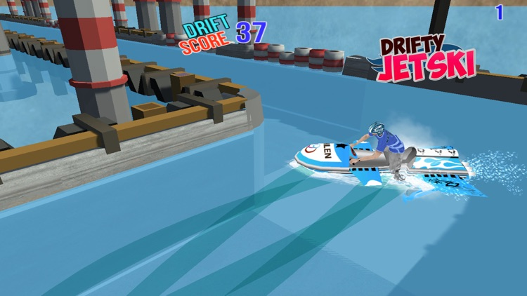 Drifty JetSki - Jetski Drift Stunt Racing Games screenshot-4