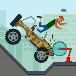 Cycle Wheels Crash Test Simulator 2D Full