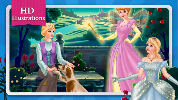 Cinderella Fairy Tale Dress Up and Storybook HD screenshot-4