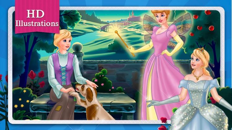 Cinderella Fairy Tale HD screenshot-4