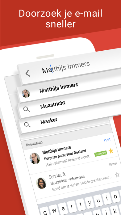 Screenshot for Gmail van Google in Netherlands App Store