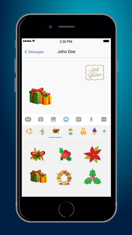 Christmas Emoji Plus