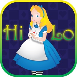 ` Guess the Hi Lo Card - Alice In Wonderland edition