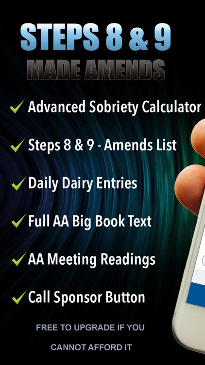 AA Steps 8 & 9 - Amends List