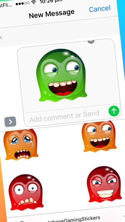 Mobile Gaming Emoji Stickers