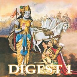 Mahabharata and Drona Digest - Amar Chitra Katha