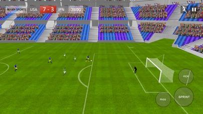 サッカー2017ゲーム - リアルフットボールストライカーゴールHDのスクリーンショット4