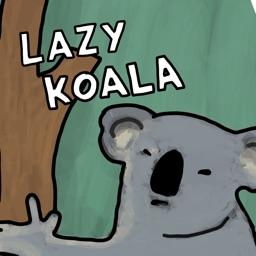 Lazy Koala Stickers