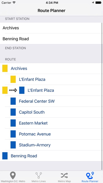 Washington D.C. Metro - Subway