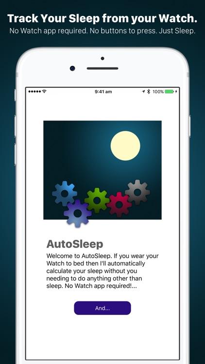 AutoSleep. Auto Sleep Tracker for Watch