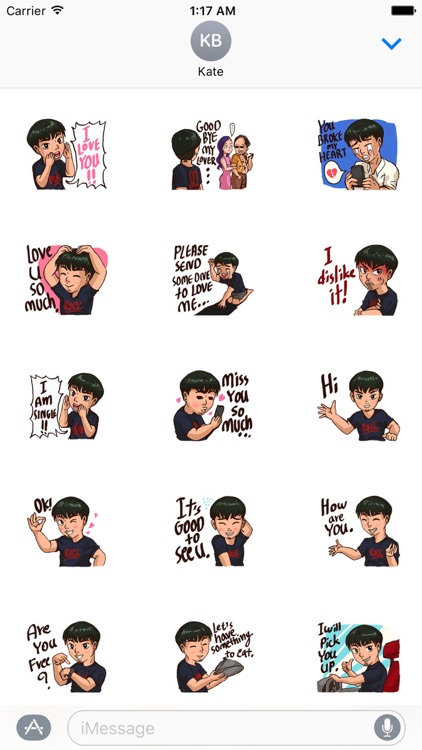 Valentine Of Single Men Stickers