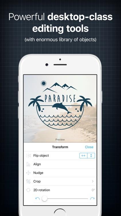 InstaLogo Logo Creator - Graphic design maker app image