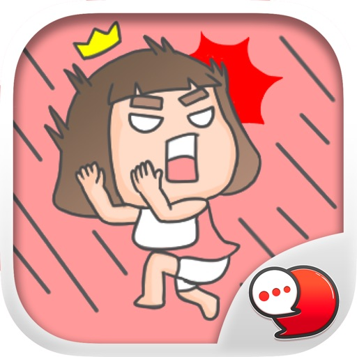 Lookpeach and Looktorh Stickers for iMessage
