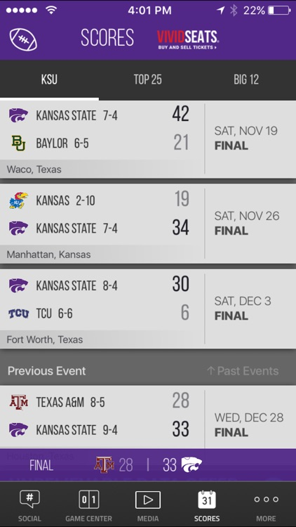 K-State Wildcats Gameday screenshot-3