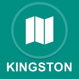 Kingston, Jamaica : Offline GPS Navigation