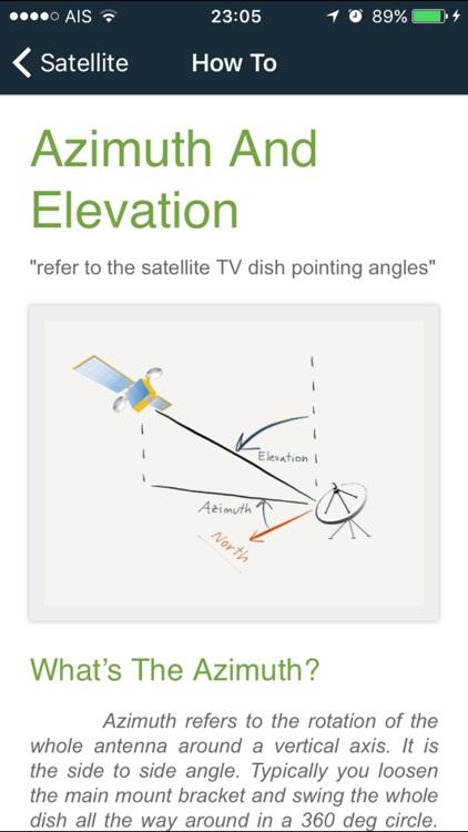 sat pointer :  dish aligner + satellite finder screenshot-4
