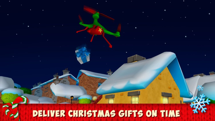 Christmas Cartoon Quadcopter Drone Simulator