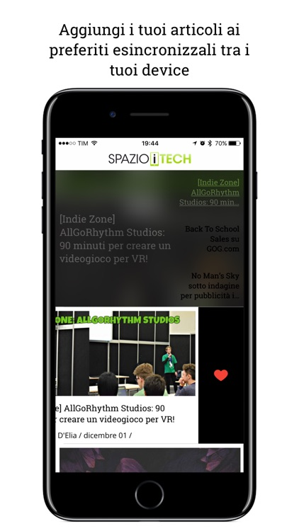 Spazio iTech screenshot-1