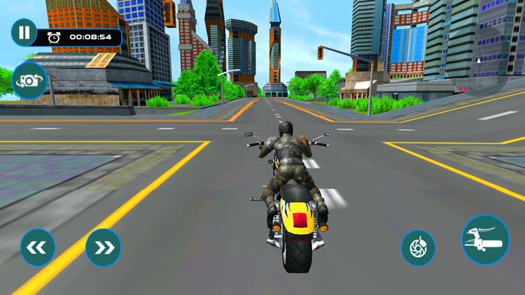 Furious City Moto Bike Rider – Race Simulator Game screenshot-3
