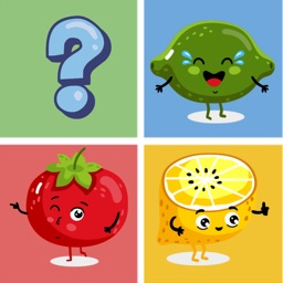 Fruit & Vegetable Match Free-Matching Game For Kid