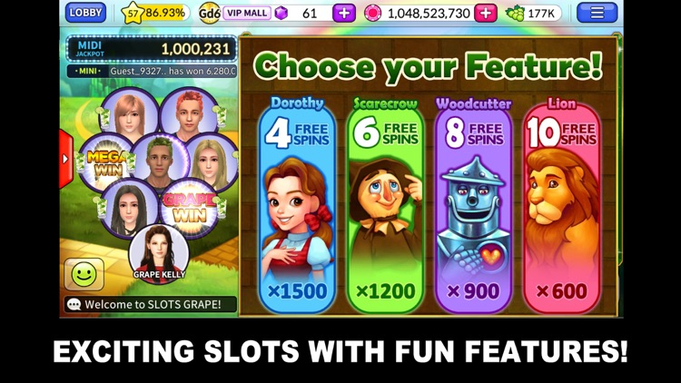 SLOTS GRAPE screenshot-1