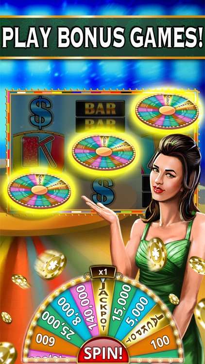Epic Jackpot Slots: Slot Machines & Bonus Games screenshot-3