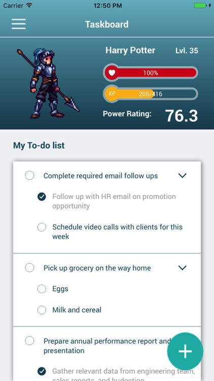 Bounty Tasker: Gamify your tasks and to-do list